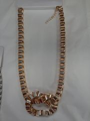 Gold Knot Chain Necklace