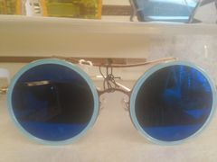 Blue Sunglasses / Blue Lens #3078