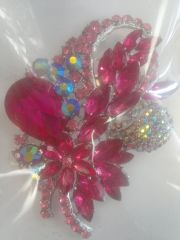 Pink Brooch Pin #2900
