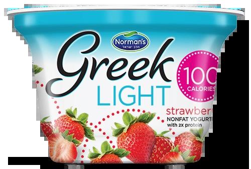 Norman's Greek Light Yogurt Strawberry 5.3 oz