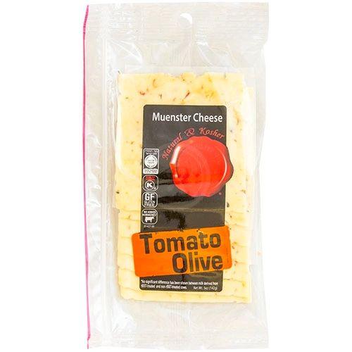 Tomato Olive Cheese Deli Sliced - Natural & Kosher
