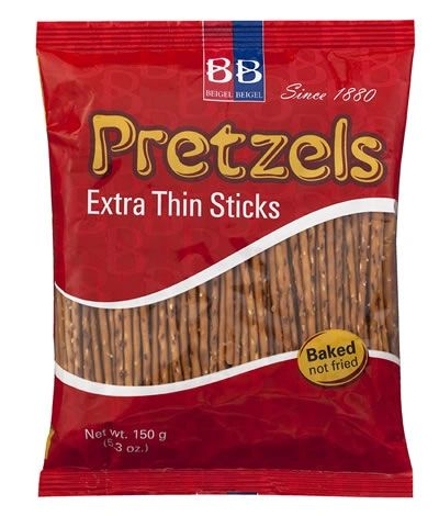 Beigel B Pretzels Thin Sticks