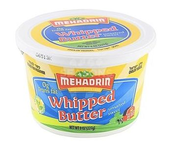 Mehadrin Whipped Butter Unsalted 8 oz