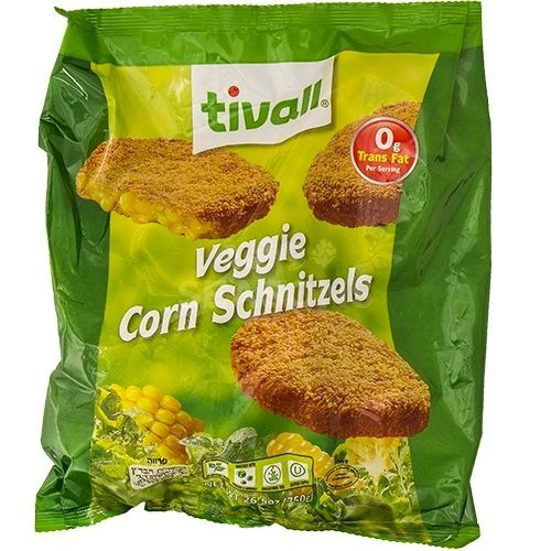 Tivall Veggie Corn Schnitzels