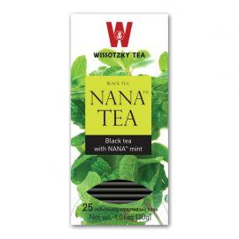 Tea Wissotzky Nana Mint Black