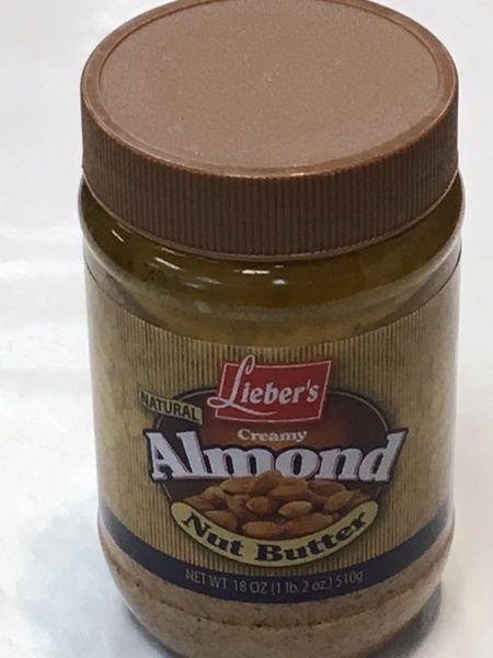 Creamy Almond Butter 18 oz
