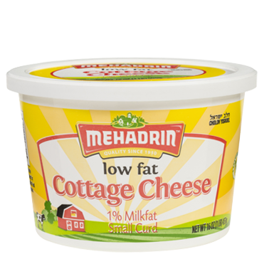 Mehadrin Low Fat Cottage Cheese 1 lb
