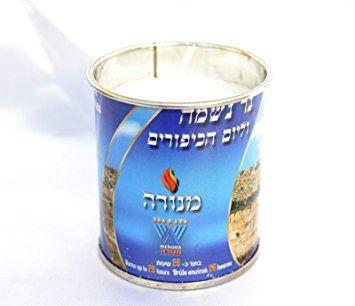 Memorial Candle Tin