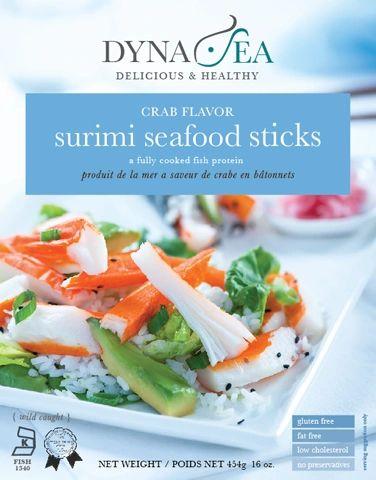 Dyna-Sea Surimi Crab Flavor Fish Sticks 16 oz
