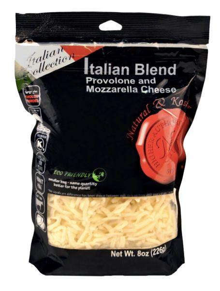 Italian Blend Cheese Shredded - Natural & Kosher