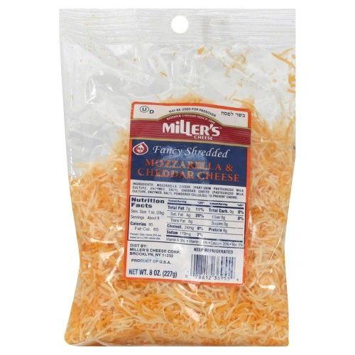 Miller's Shredded Mozzarella & Cheddar Cheese