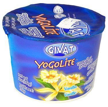 Givat Yogalite Nonfat Yogurt Vanilla