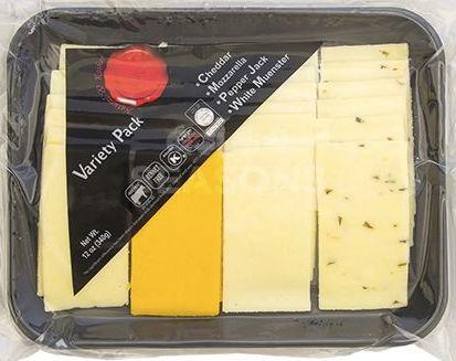 Cheese Variety Pack - Natural & Kosher