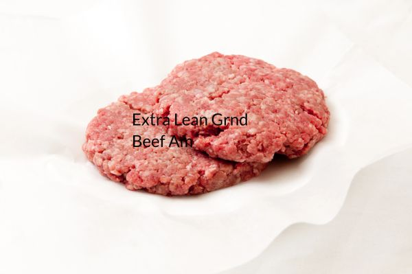 Extra Lean Ground Beef American (lb.)