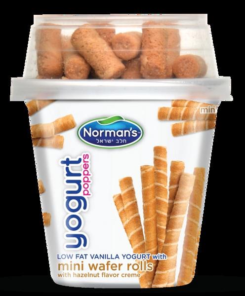 Norman's Yogurt Mini Wafer Rolls 5.3 oz
