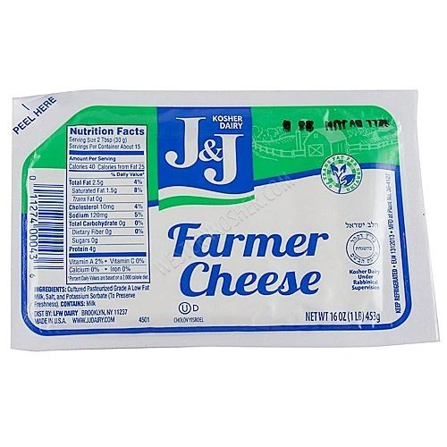 Farmer Cheese - J&J