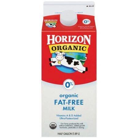 Horizon Organic Fat Free Milk