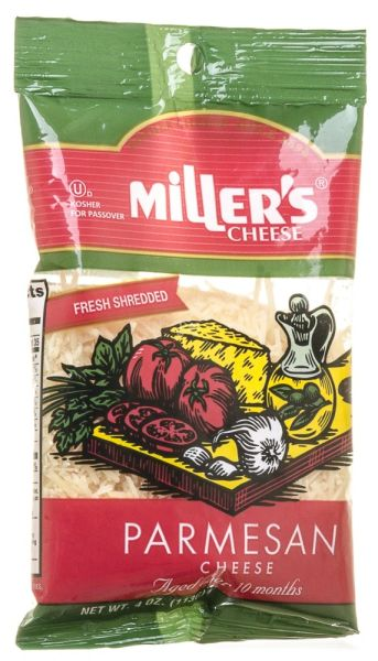 Parmesan Cheese Shredded - Miller's