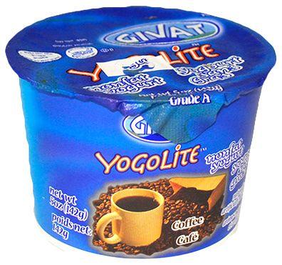 Givat Yogolite Nonfat Yogurt Coffee