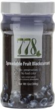 Fruit Spread 778 Spreadable Fruit Blackcurrant