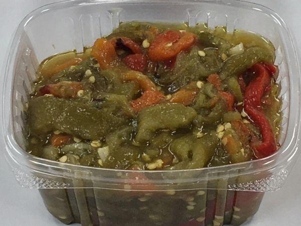 Homemade Pepper Salad