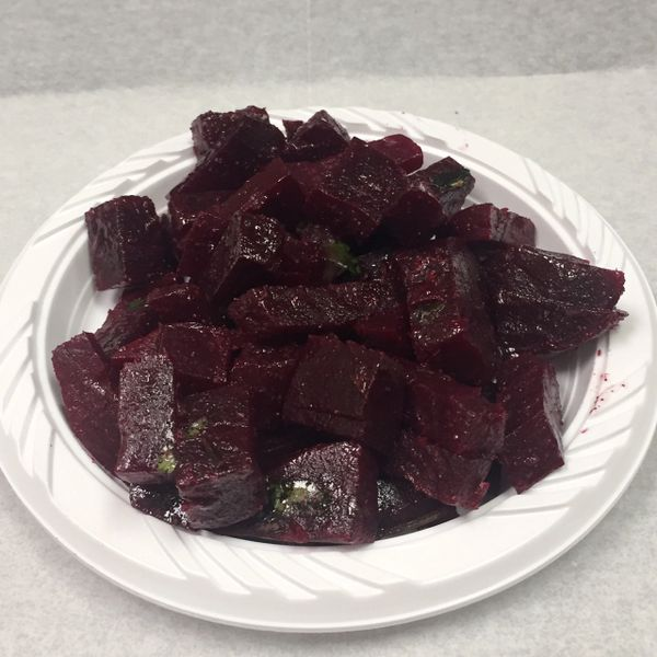 Homemade Beets Salad