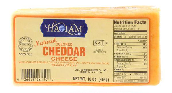 Cheddar Cheese Block - Haolam