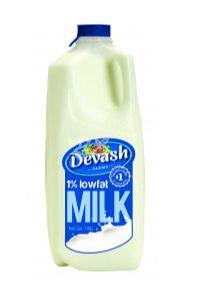 Devash Milk 1% Low Fat Milk
