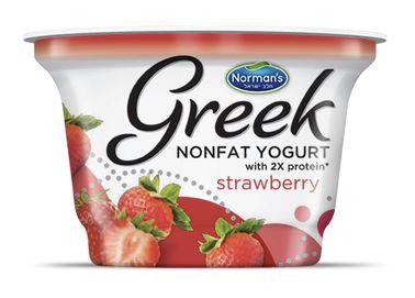 Norman's Greek Nonfat Yogurt Strawberry