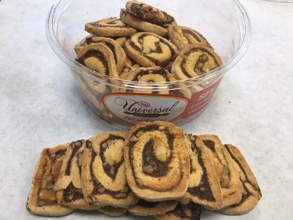 Universal Bakery Walnut Date Swirl