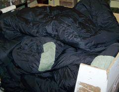 SLEEP SYTEM INTERMEDIATE SLEEPING BAG, BLACK, U.S. ISSUE *NICE*
