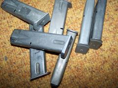 BERETTA M-9 MAGAZINES, 15 ROUNDS, U.S. ISSUE *NICE*