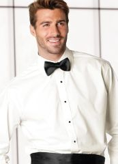 Ivory Turndown Collar Fitted Shirt STIF