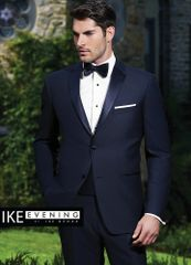 IKE Behar Evening Navy 'Sabastian' Tuxedo C1014