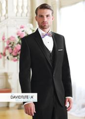 David Tutera Black 'Celebration' Tuxedo C1018
