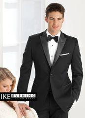 IKE Behar Evening black 'Jackson' slim tuxedo C1001