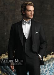 Allure Men Black 'Bartlett' Tuxedo C996