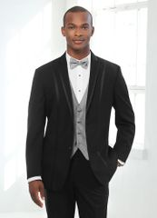 The Black 'Avalon' Tuxedo