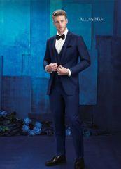 Allure Men Cobalt Blue 'Brunswick' Tuxedo C1033