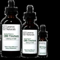 Lazarus Naturals CBD Tinctures