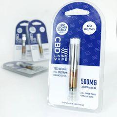 Living CBD Vape Cartridge 250mg
