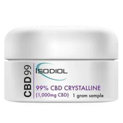 Isodiol 99.99% Pure Crystalline 1Gram 1000mg CBD