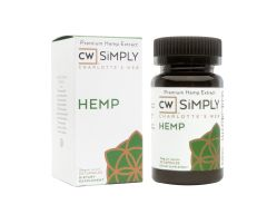 CW SIMPLY HEMP CAPSULES 15mg 30count (Sold in store only)