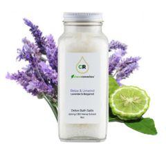 Detox Bath Salts - Lavender & Bergamot 150mg CBD (8oz)