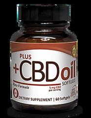 PlusCBD Gel Capsules - Raw - CBDA