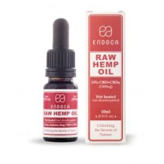 Endoca RAW Hemp Oil Drops 1500mg CBD + CBDa (15%)