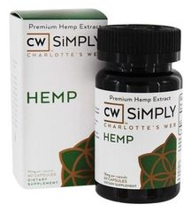 CW SIMPLY HEMP CAPSULES 15mg 60ct