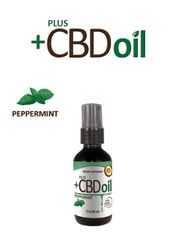 PlusCBD 1oz Peppermint Spray 100mg