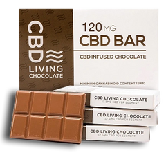 Living Chocolate Bar 120mg