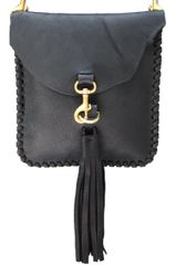 Small Oil Tanned Tassel Crossbody